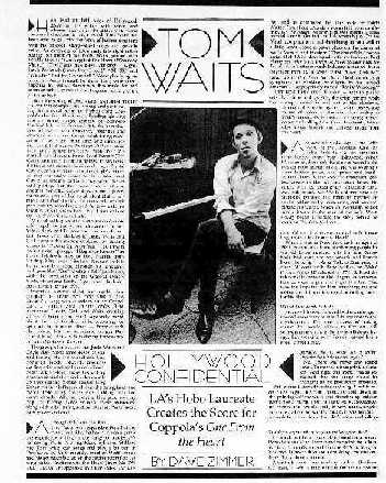 Page Lay Out First Of Article Thanks To Kevin Molony For Donating This Scan