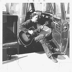Tom Waits In Front Of San Go Folk Arts Ca 1973 1974 Scan Kindly Donated To Library Photography By Virginia Curtiss