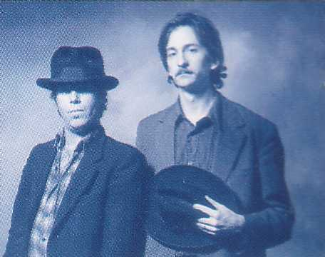 The Black Rider Promo Picture Tom Waits And Greg Cohen6