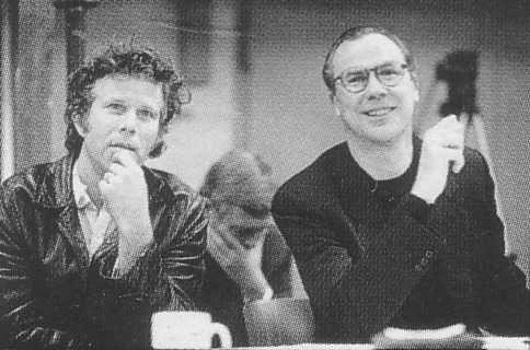 Tom Waits And Robert Wilson At The Black Rider Rehearsals6